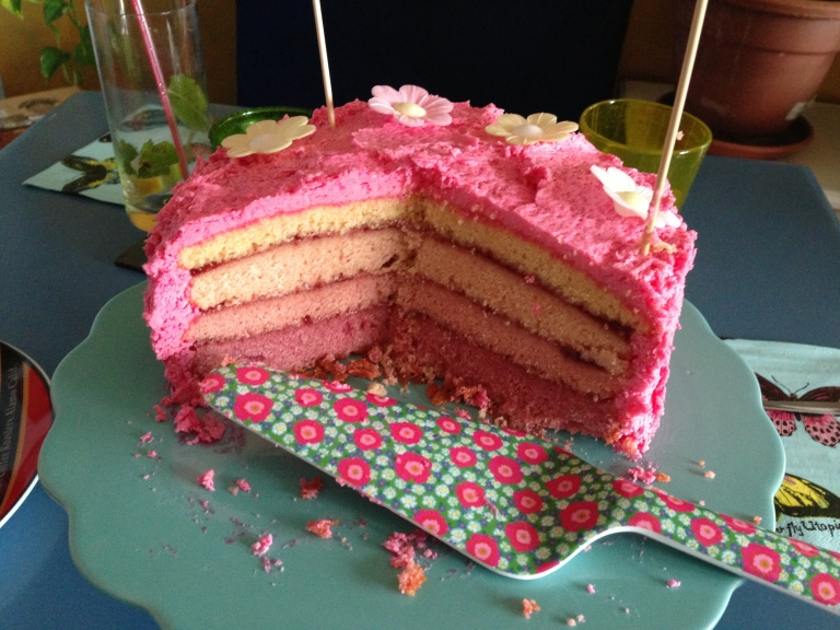 cake ombre