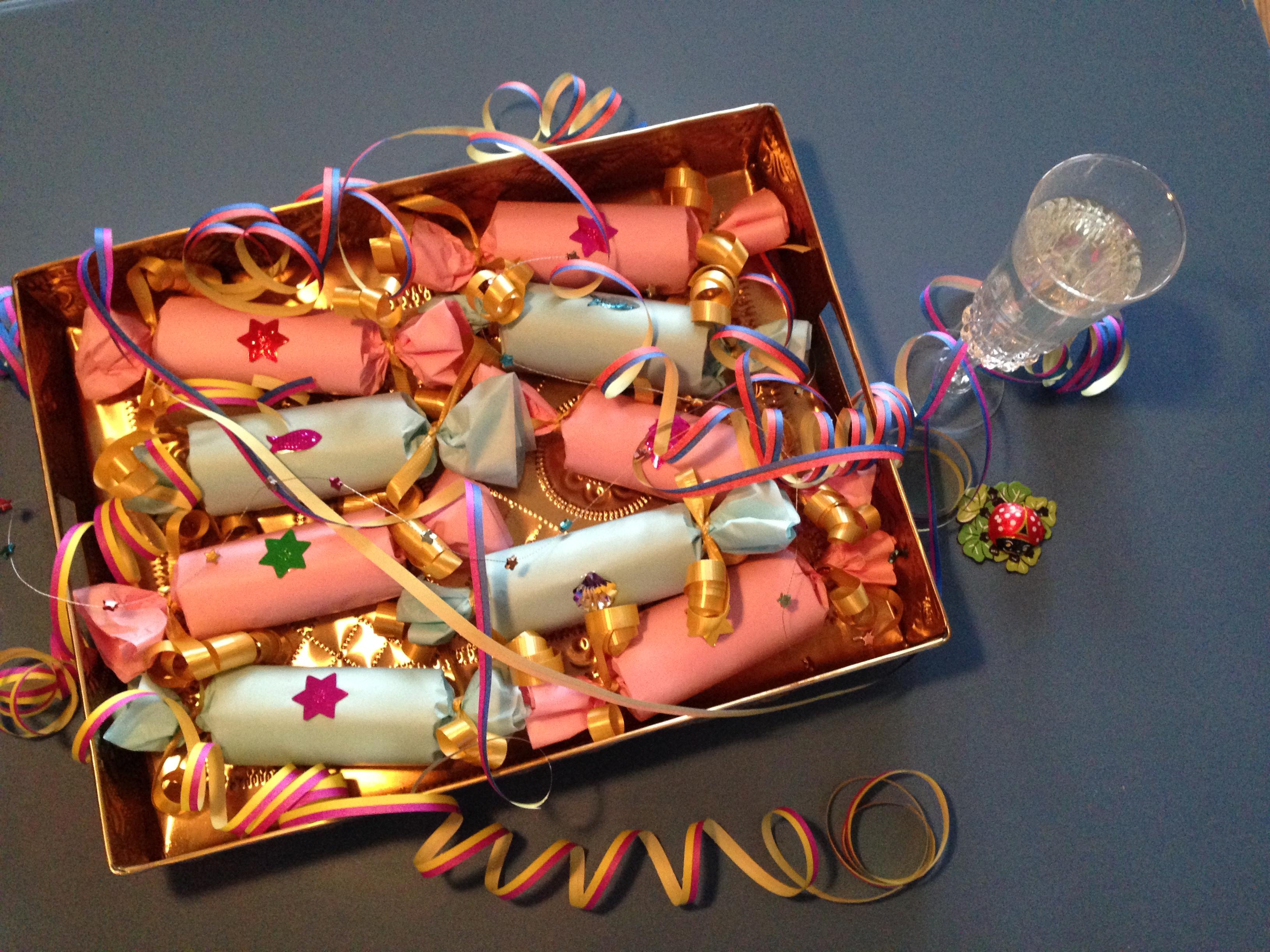 Mit Glück ins Neue Jahr. Silvester-Cracker. – checkout wonderland